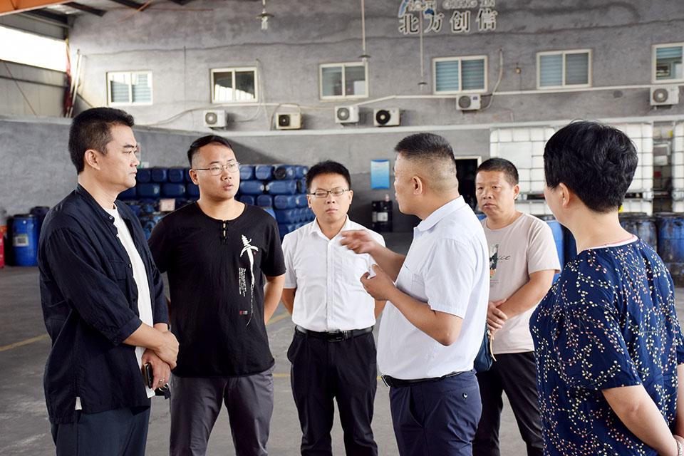 <b>【要闻】邹平市副市长、无棣县科技局领导一行</b>