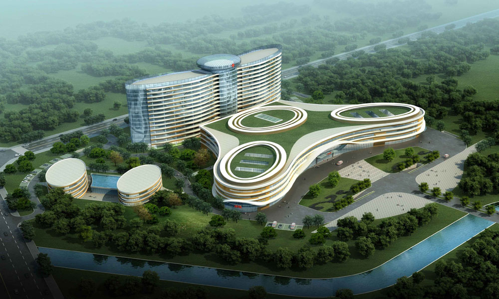 The Seventh People Hospital in Chengdu City